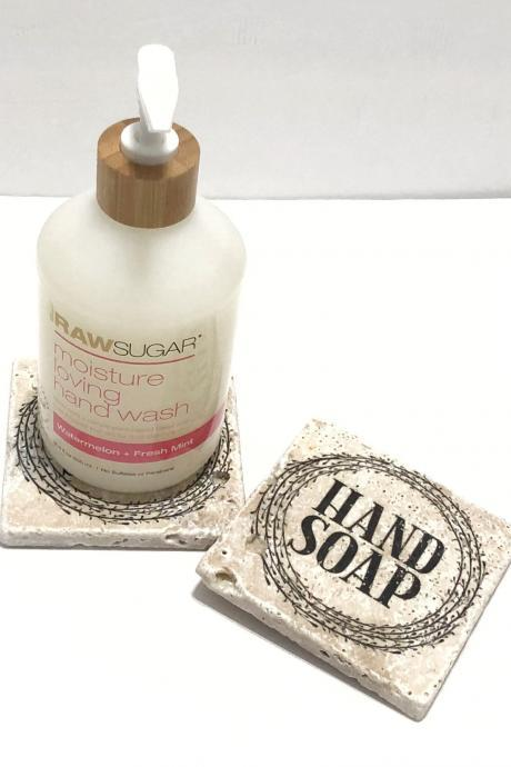 Hand Soap Coaster, Holder for Hand Soap, Hand Soap Display